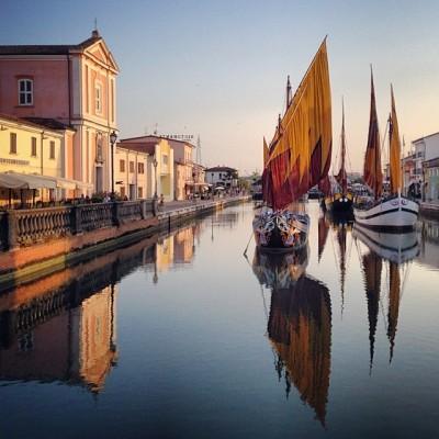 #travel, #natgeotravelpic, #italy, #sailboats, #boat, #canal, #cesenatico, #city, #photographers_on_tumblr