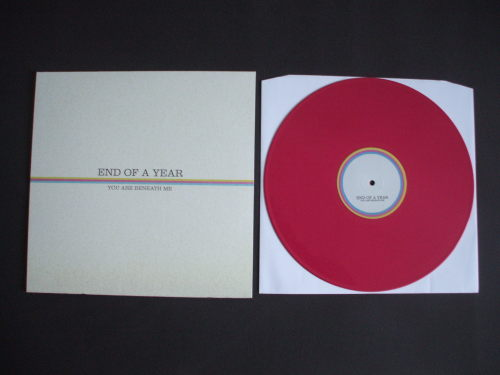 End Of A Year - You Are Beneath Me 12""