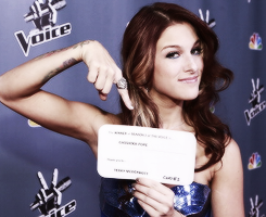 cassadee-pope-fan:  Congrats Cassadee ♥ You really deserve it :)