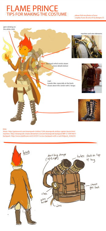 Flame Prince cosplay reference for shx0 and everyone else who would like to cosplay him. :]