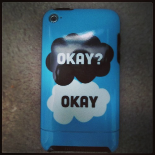 cooperbluejayanderson:  Got my new case today! The lovely Lauren designed it! :) Go check out her Redbubble shop for Glee, Darren, Nerdfighter, and other cool stuff!