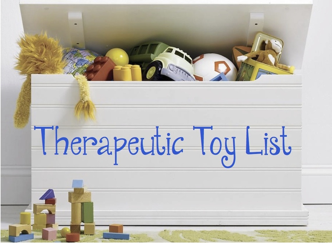 Play Therapy Toys : Here is a list of therapeutic toys that are creative