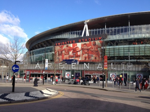 Emirates Stadium: Arsenal v Stoke City