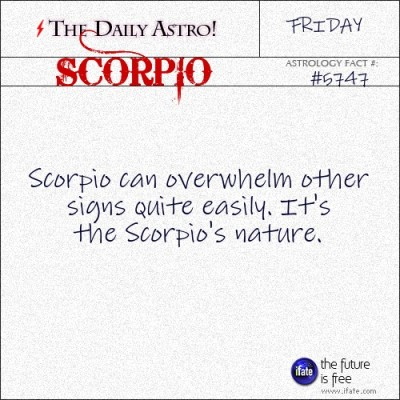 "Scorpio 5747: Visit The Daily Astro for more Scorpio facts.These are the best ""love horoscopes"" on the web! :)"