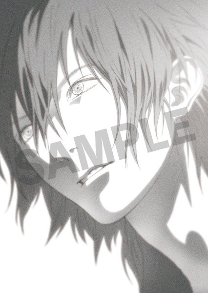 your-reply:  The preorder postcard for the DRAMAtical Murder Re:Connect soundtrack.