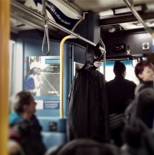 "creaturesoftrimet:  SPOTTED: Around March 29, 2013. Unknown Bus. I bet the riders of this bus felt pretty safe on this trip. (Source: cyntiaruiz on Instagram, via TriMet's ""How We Roll"")"