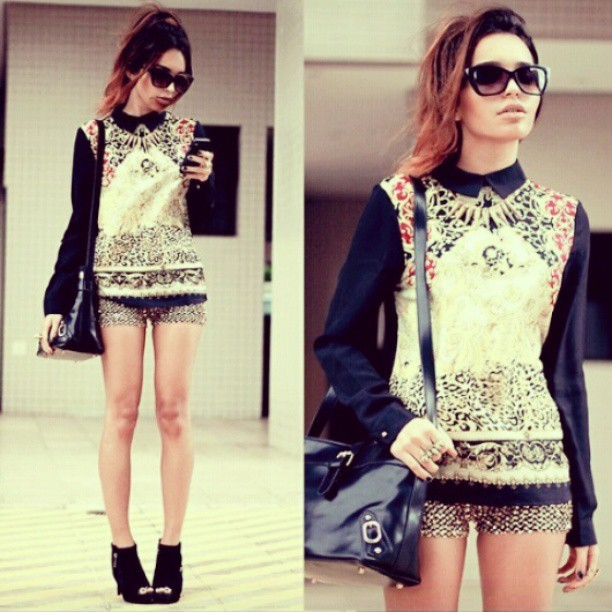 Daily outfit inspiration. #outfit #fashion #gold #shades