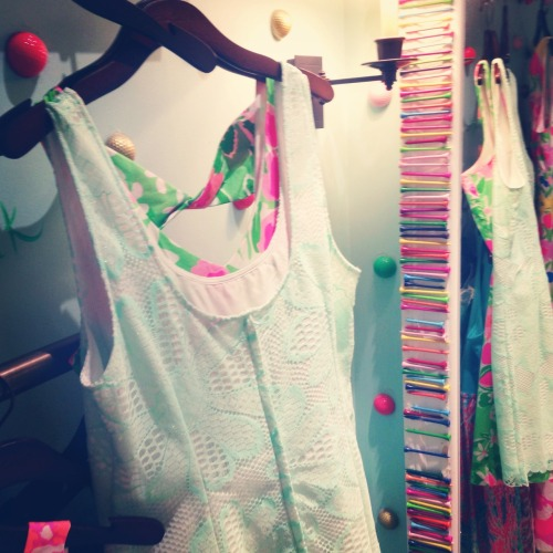 apoor-littlerichgirl:  Graduation dress shopping at the Lilly store in Atlanta 💗