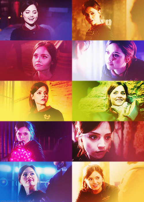 timeywimeyness:  Clara Oswald in Nightmare in Silver