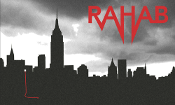 chrisblakedesign:  Here is the second Rahab poster. This one incorporates the scarlet cord from the story. http://chrisblakedesign.tumblr.com/