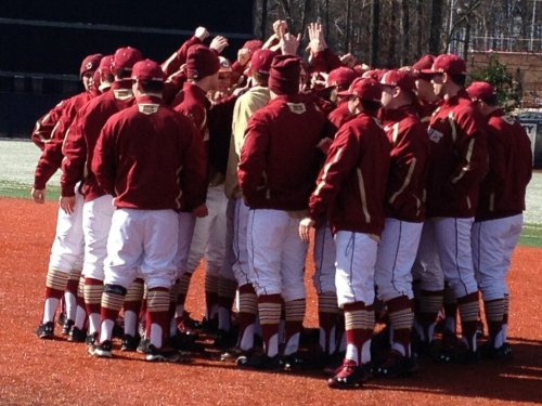 Nice stirrups for Boston College.  I love seeing a whole team sporting the classic look.  Maybe one day the majors will look like this again.  Long Live The Stirrup!