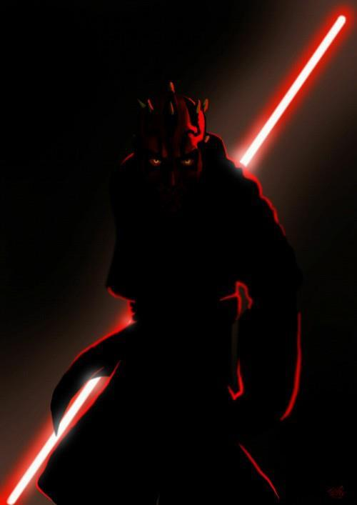 mrmaulyboo:  Darth Maul, looking as bad ass as always.