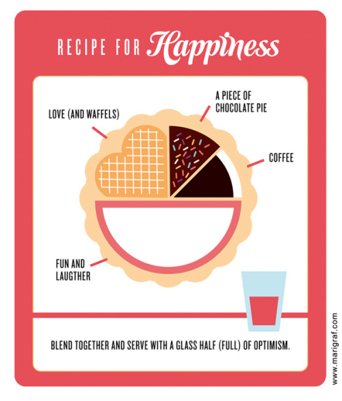 Recipe for Happiness by Mari Grafsrønningen