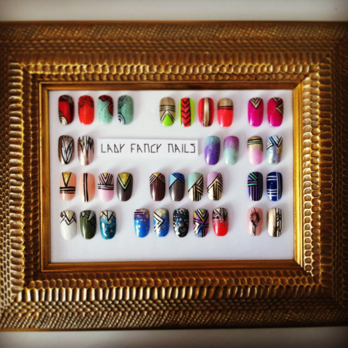 ladyfancynails:  The Menu  Follow LFN on Instagram @ladyfancynails