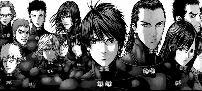 viewtiful-kao:  The present Gantz team