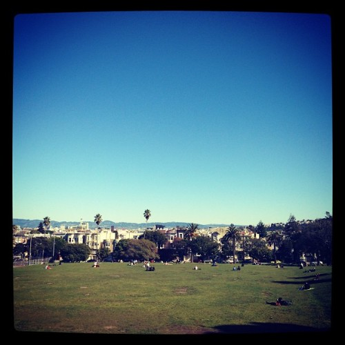 Such a beautiful day in #sanfrancisco #dolorespark