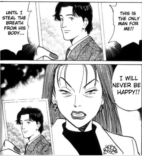 "You guys. No one told me Naoki Urasawa's ""Monster"" was such a baller comic.What the hell, you guys."