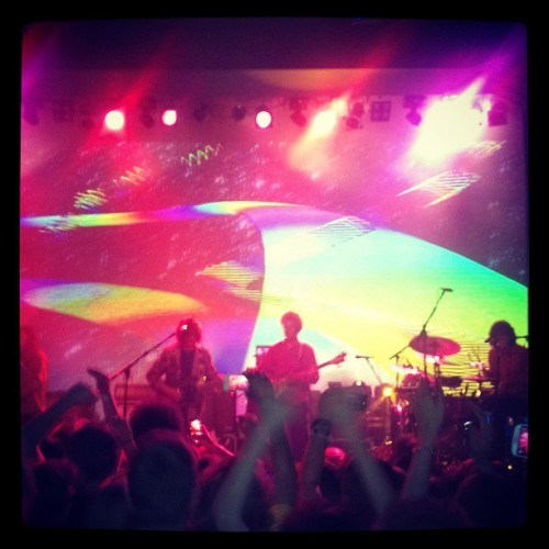 "xjerbear:  We""re fated to pretend. #MGMT #Concert (at Odeon Event Centre)"