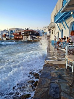 Seaside, Mykonos, Greece photo via besttravelphotos