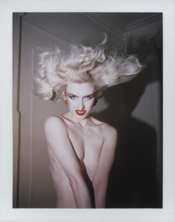 derekdewitt:  Stella Rose Saint Clair by Derek DeWitt, hair by Mischa Golebiewski, NYC 2013. Special thanks to my divinely sweet and generous boss David Armstrong for letting me use his space to shoot. xx