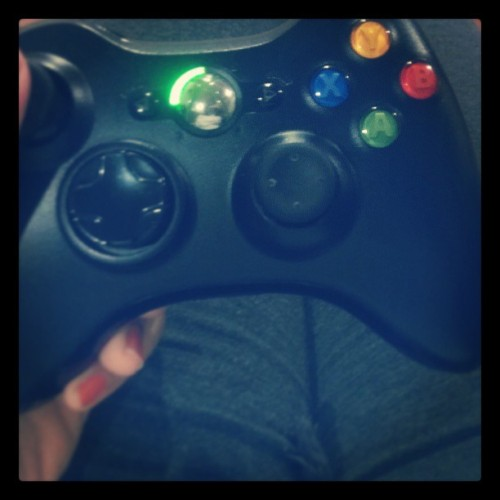 my saturday night..#xbox #chillin