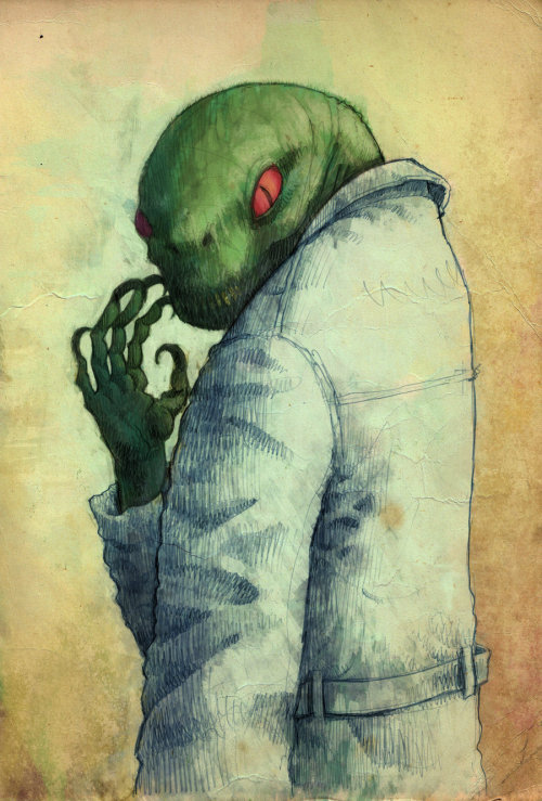 dr. connors the lizard by ~laseraw