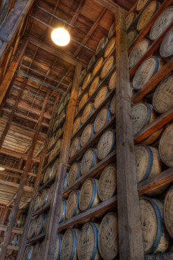"infinite-paradox:  (""Barrels of Bourbon Aging"" by Michael Noirot)"