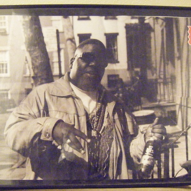 For Sale: framed vintage Notorious B.I.G. poster! E-mail OldSchoolRulez@yahoo.com