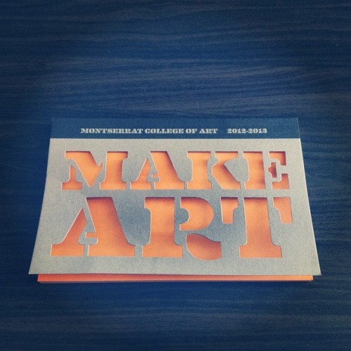 Make Art @montgallery #montserratcollegeofart #makeart  (at Montserrat Artist Apartment @ Admission Building)