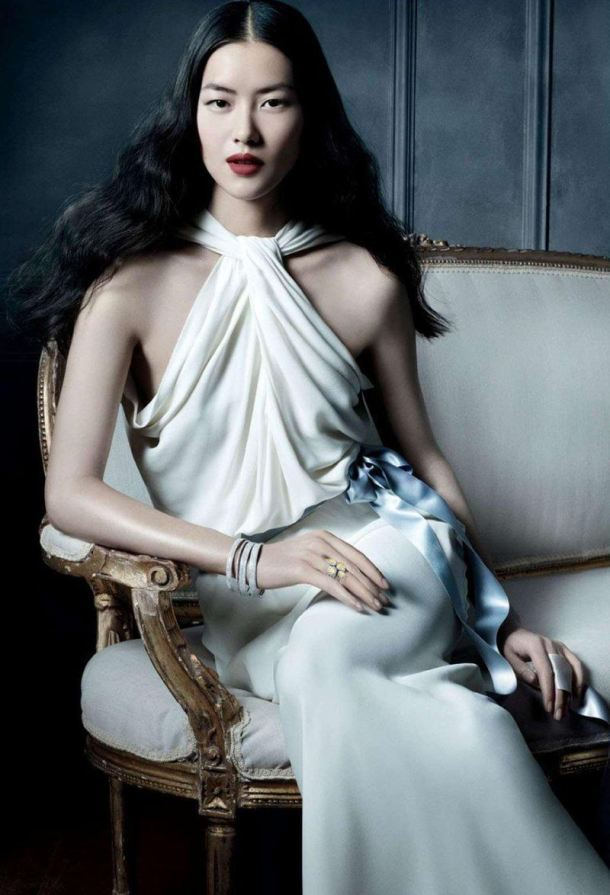 walkingthruafog:  Liu Wen for Tiffany & Co's The Great Gatsby