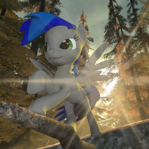 Blue Lash in the forest. made by Neros1990 im so happy about it i posted it here! i freakin LOVE IT!! my first pony in Gmod form!!! but yeah! its awessssommmeeeeeeee XD