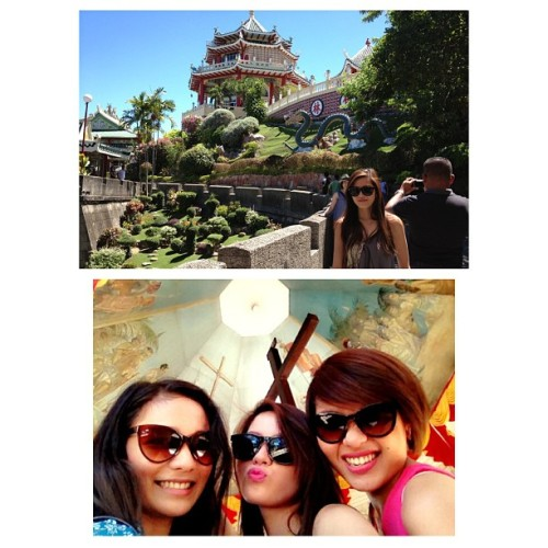 ✔Philippine Taoist Temple 🏯 to ✔Magellan's Cross ➕ on Day THREE💋😄😙😀 (at Cebu City, Philippines)