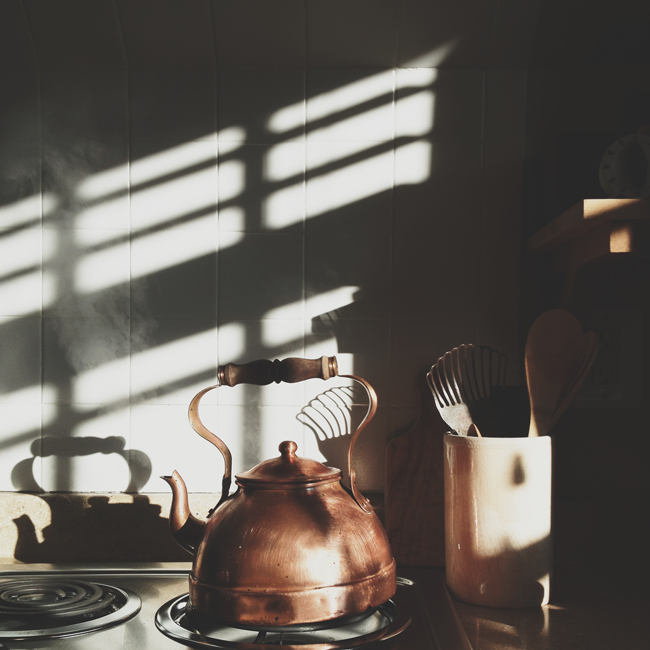 saltwaterwhispers:  All I want is a proper cup of coffee Made in a proper copper coffee pot