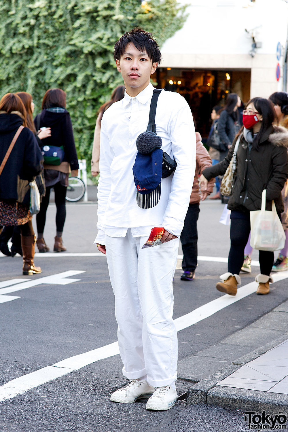 Supreme, Comme des Garcons and H&M in Harajuku.