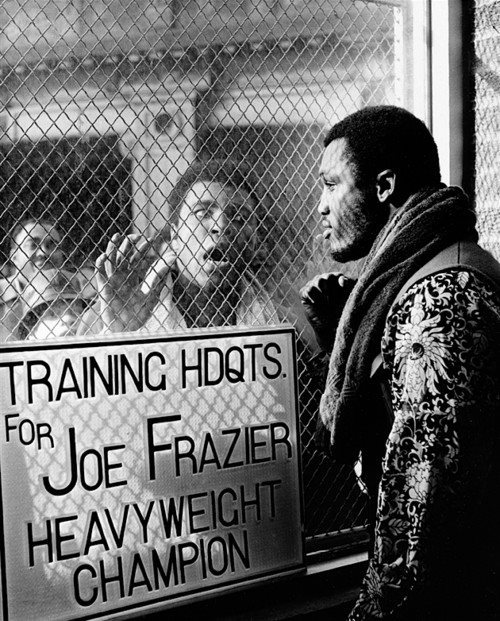 """And sometime during that brutal fight, Ali leans over to Frazier and says, 'I heard you were all finished, Joe.' And as Frazier digs in for another left hook, he says, 'They lied to ya, champ. They lied."""