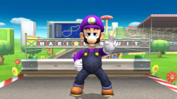 balkhy:  purple green mario