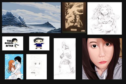 "Sum up of my ""notable works"" of 2012"