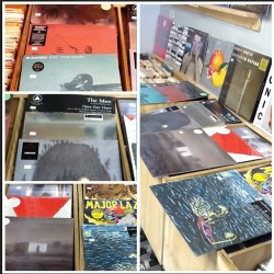 Some of the new stuff in today  #unknownmortalorchestra #foxygen  #var #Godspeed #endlessboogie #majorlazer #beachhouse #olympicrecords #vinyl
