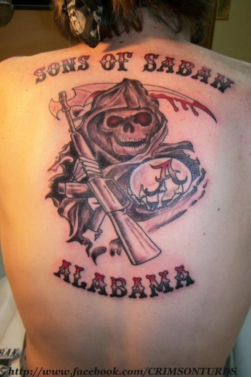 This Alabama tattoo will haunt your dreams and steal your soul via