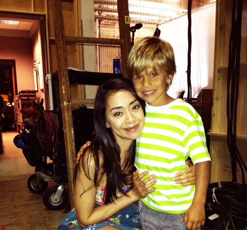 slacktides:    @Aimee_Garcia: LOVE this kid! Can't wait 4 u guys 2 c him do his thing Season8 #Dexter pic.twitter.com/HdS35o42YC