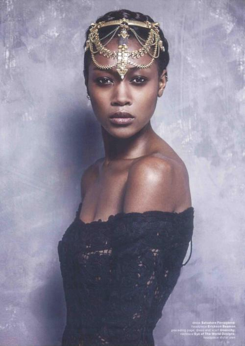 divalocity:  Magnífico: Betty Adewole for MUSE MAGAZINE by Philip Meech.