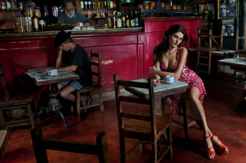 2013 Pirelli Calendar by Steve McCurry… Shot in Rio, the 2013 edition of the Pirelli Calendar is a refreshing break from that publication's long-standing tradition of perfect bodies in starkly-lit, paradisical settings. McCurry adds his iconic and unmistakable signature look to the calendar whilst still focusing on conventional contemporary beauty, as represented by a generous smattering of the world's top models, but they are all mercifully clothed. More importantly, there is no sense of the male gaze being responsible for the women's placement and the way their images are captured. In my opinion it is one of the most beautiful, well presented calendars to date, not taking anything away from Peter Lindbergh's 2002 edition.