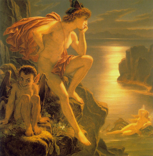 "Sir Joseph Noel Paton, ""Oberon And The Mermaid"" by sofi01 on Flickr."