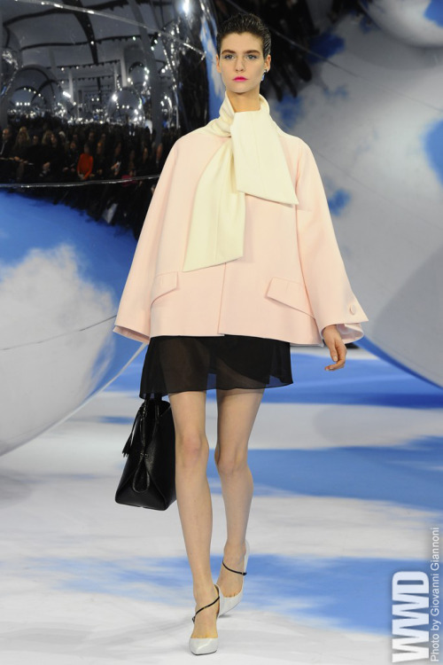 womensweardaily:  Women's Shoe Trend: Asymmetrical Elements Dior RTW Fall 2013