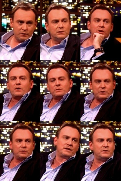 comedysuze:  Philip Glenister on the Jonathan Ross Show