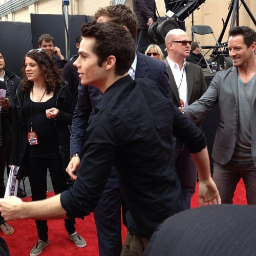 #DylanOBrien #MTVMovieAwards #RedCarpet #TeenWolf #MTV #Instagood #PhotoOfTheDay (at Sony Pictures Studios Stage 7)