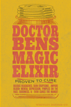 Dr. Ben's Elixir | Whitley Design Co.
