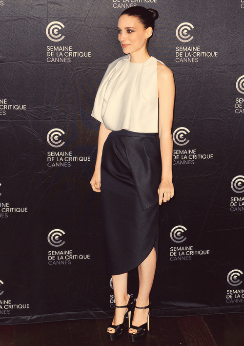 Rooney Mara attends the Ain't Them Bodies Saints Photocall during The 66th Annual Cannes Film Festival on May 18, 2013.