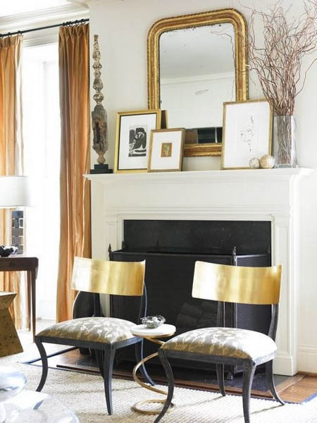 MORE METALLIC DECOR IDEAS