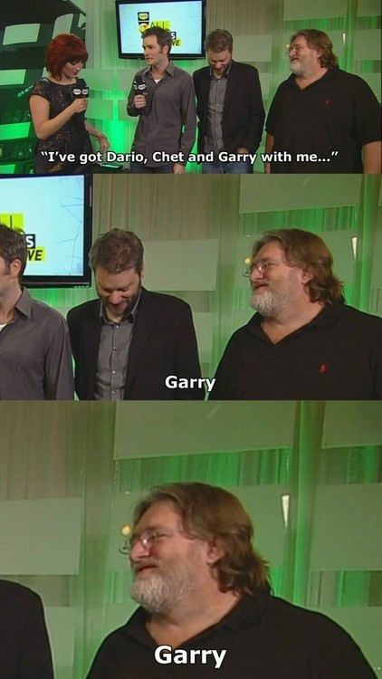 What the hell? Garry?!